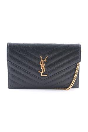 "Saint Laurent Handtasche ""Monogramme Envelope Chain Wallet Nero"" schwarz"