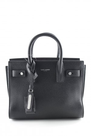 "Saint Laurent Handtasche ""Sac de Jour Nano Tote Bag Grained Calf Nero"""