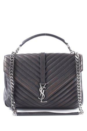 "Saint Laurent Handbag ""YSL Monogramme Large College Bag Black"" dark brown"