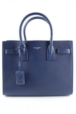 "Saint Laurent Carry Bag ""Sac De Jour Baby Bon Tote Marinette"" blue"