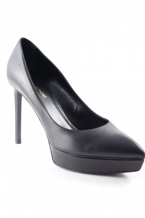 Saint Laurent High Heels schwarz Elegant