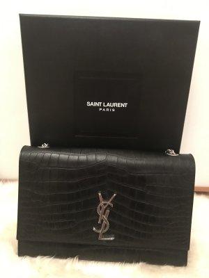 Saint Laurent Shoulder Bag black leather