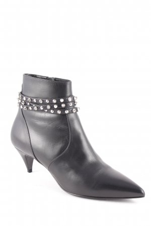 Saint Laurent Kittie Booties schwarz