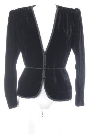 Saint Laurent Kurz-Blazer schwarz Elegant