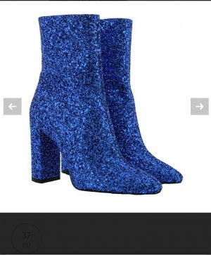 Saint Laurent Ankle Boots blue