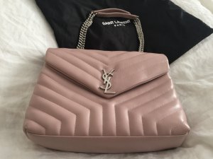Saint Laurent LouLou Satchel Bag Rose