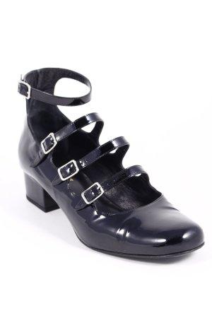 """Saint Laurent Mary Jane Pumps """"Babies Patent Leather Black 38,5"""" schwarz"""