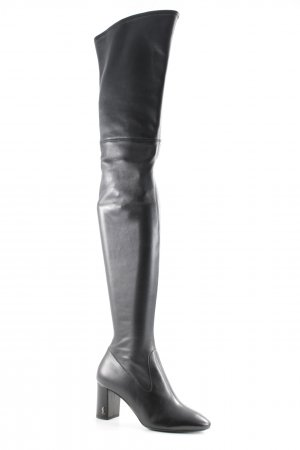 "Saint Laurent Kniehoge laarzen ""LouLou Thigh High Pin Boots Nappa Leather Black"""