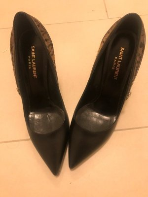Saint Laurent Paris Echtleder Pumps Neu