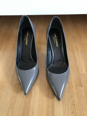 Saint Laurent Paris Pumps dunkelgrau