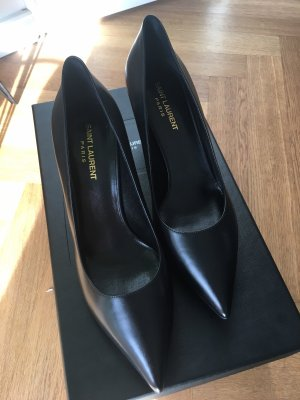 Saint Laurent Pumps High Heels schwarz klassisch