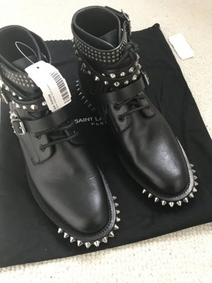 Saint Laurent Ranger Boots Leder Biker Military