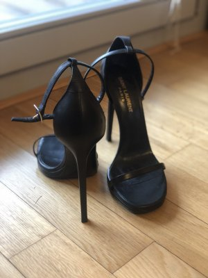 Saint Laurent Riemchensandalen