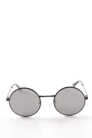"Saint Laurent runde Sonnenbrille ""Round Zero Sunglasses Black SL 136 003 52"""