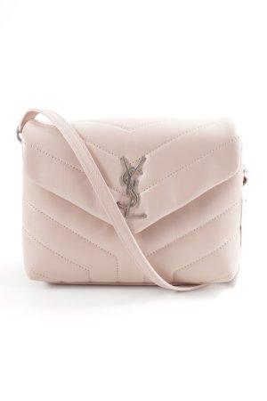 Saint Laurent Bolsa de hombro rosa empolvado elegante