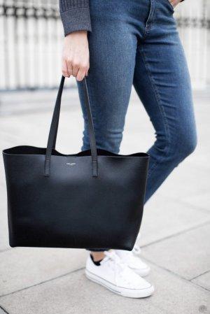 Saint Laurent Shopper zwart