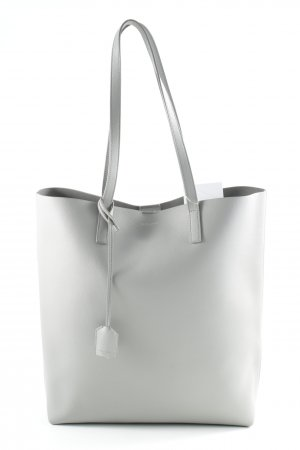 Saint Laurent Shopper grau schlichter Stil