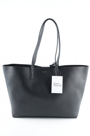 "Saint Laurent Shopper ""YSL Large Shopping Bag Black"" schwarz"