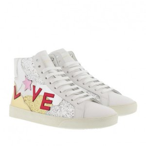 Saint Laurent SL/06 Love High Top Sneaker
