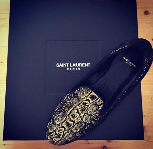 SAINT LAURENT SLIPPER