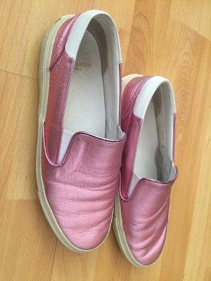 Saint Laurent Sneaker / metallic pink