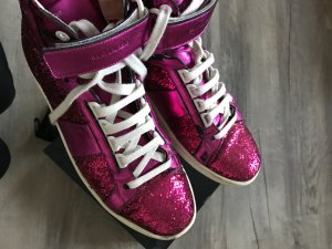 Saint Laurent Sneaker Pink Glitzer Metallic