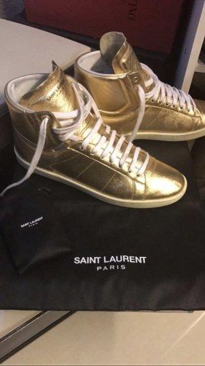 Saint Laurent Sneakers, Volleder, Größe 41