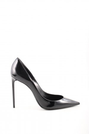 "Saint Laurent Spitz-Pumps ""Zoe 105 Pumps Leather Black"" schwarz"