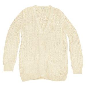 Saint Laurent Strickjacke aus Wolle, Oversize