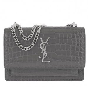 Saint Laurent Sunset Chain Wallet Monogramme