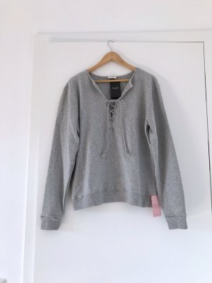 Saint Laurent Sweatshirt, Pullover grau