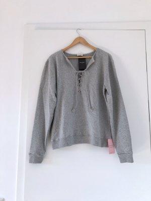 Saint Laurent Sweatshirt, Pullover grau