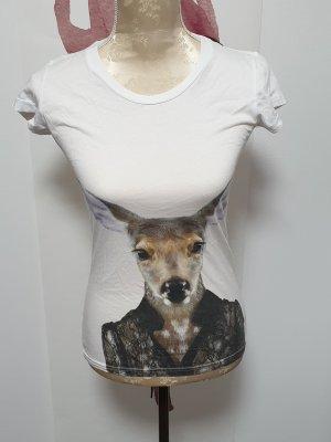 Saint Noir T-Shirt Gr. 34 XS  neu mit Reh