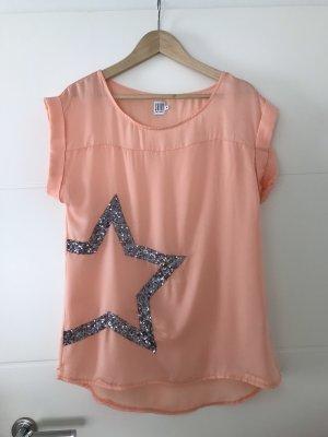 Saint Tropez Bluse Shirt kurzer Arm Gr M