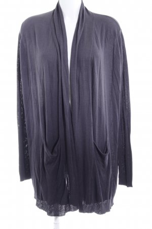 Saint Tropez Cardigan schwarz-dunkelgrau Farbverlauf Casual-Look