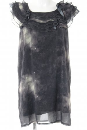 Saint Tropez Robe chiffon gradient de couleur style décontracté