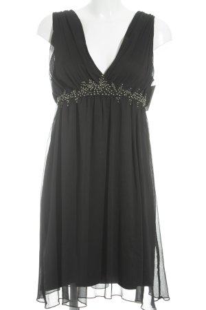 Saint Tropez Cocktailkleid schwarz-silberfarben Elegant