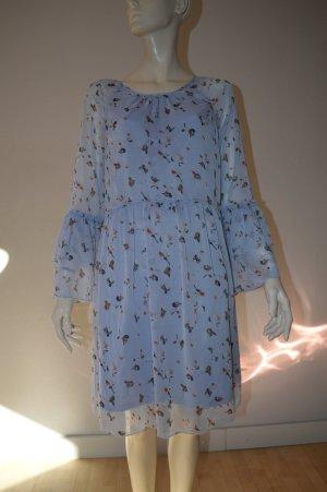 Saint Tropez Kleid Gr. S wie neu blau Blumenmuster