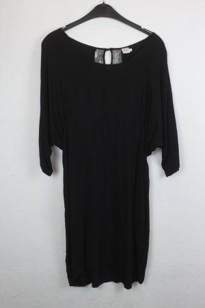 Saint Tropez Kleid Spitzenkleid Gr. S schwarz mit schwarzer Spitze (18/4/442)