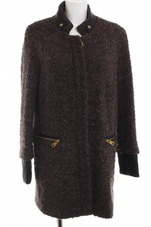 Saint Tropez Short Coat brown flecked casual look