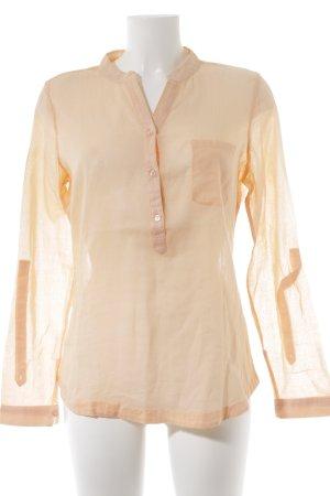Saint Tropez Langarm-Bluse apricot Casual-Look