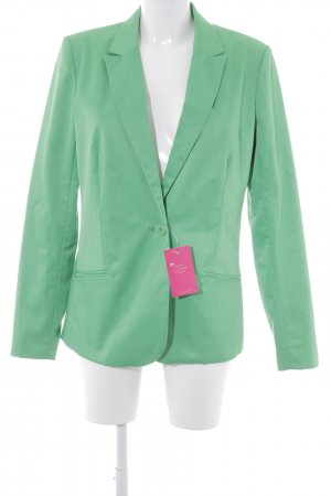 Saint Tropez Long-Blazer grün Casual-Look