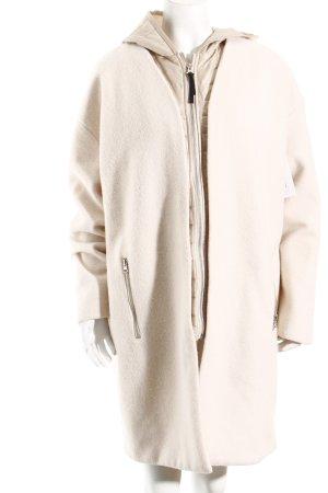 Saint Tropez Mantel creme-beige minimalistischer Stil