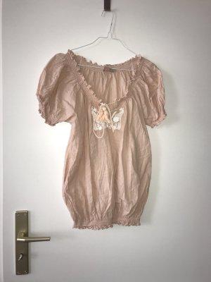 Saint Tropez Oberteil Shirt Bluse L 100% Baumwolle