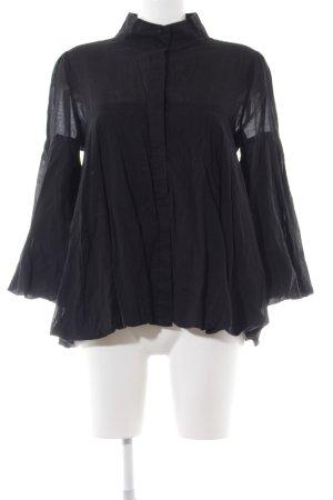 Saint Tropez Oversized Bluse schwarz Elegant