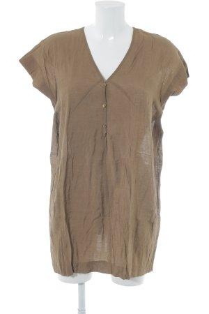 Saint Tropez Oversized blouse brons Boho uitstraling