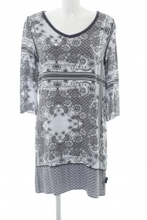 Saint Tropez Shirtkleid Blumenmuster sportlicher Stil