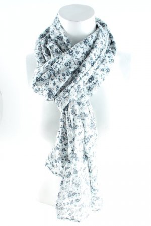 Saint Tropez Summer Scarf floral pattern casual look