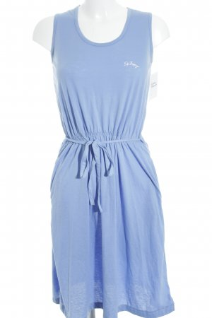 Saint Tropez Strandkleid himmelblau Beach-Look