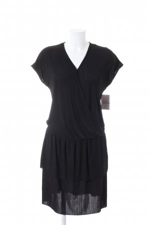 Saint Tropez Stretchkleid schwarz Streifenmuster Business-Look